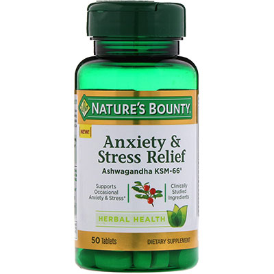 Nature's Bounty Anxiety and Stress Relief Review