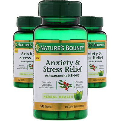 Nature's Bounty Anxiety and Stress Relief