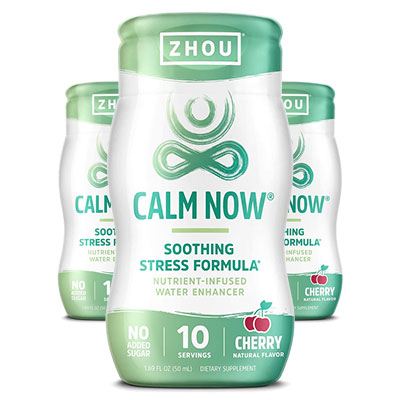 Zhou Calm Now Water Enhancer Reviews